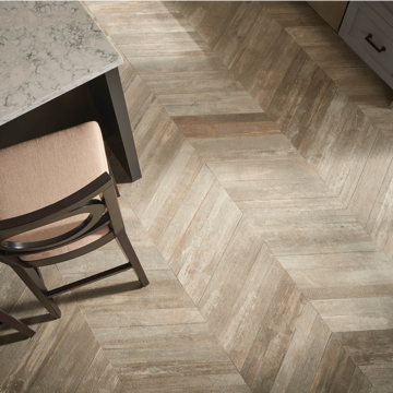 Glee chevron tile flooring | Signature Flooring, Inc