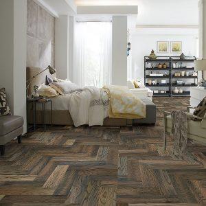 Chevron Hardwood | Signature Flooring, Inc