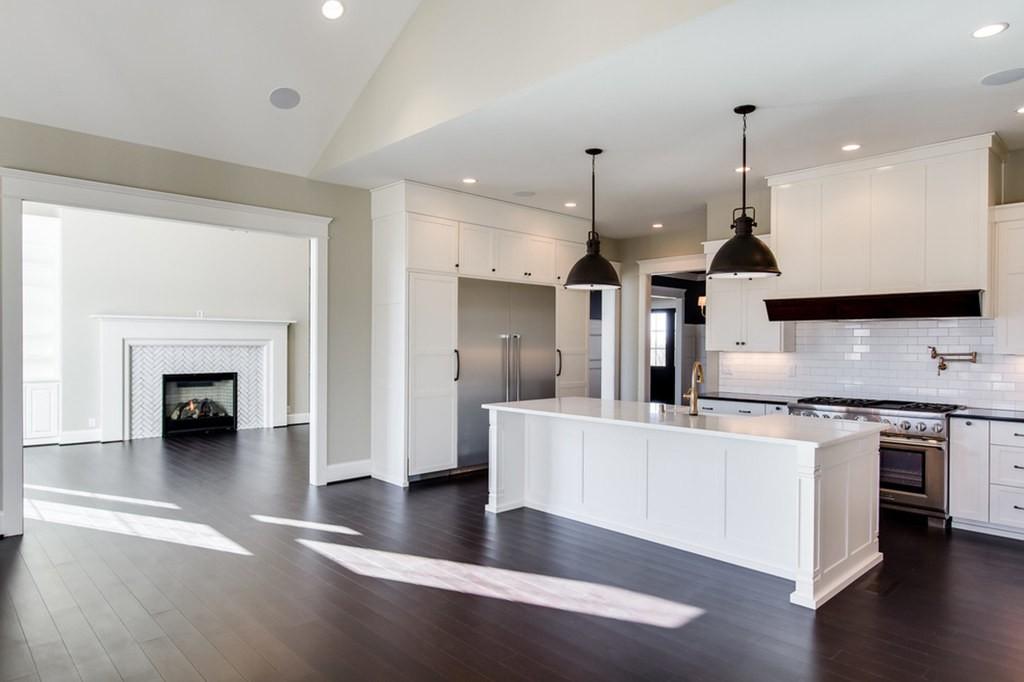 Bamboo Floor in Kitchen | Signature Flooring, Inc