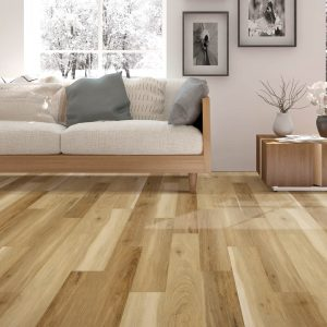 Laminate Flooring with Couch | Signature Flooring, Inc