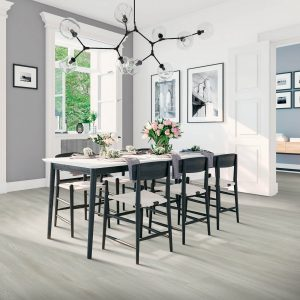 Laminate Flooring in Dining Room | Signature Flooring, Inc