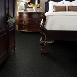 Black carpet for bedroom | Signature Flooring, Inc