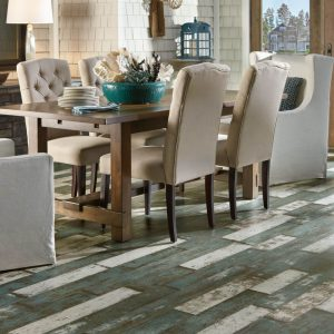 Laminate Sea Glass Teal | Signature Flooring, Inc