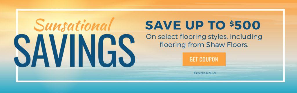 Sunsational Savings Sale | Signature Flooring, Inc